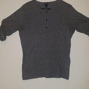 Men's 3/4 Sleeve Shirt